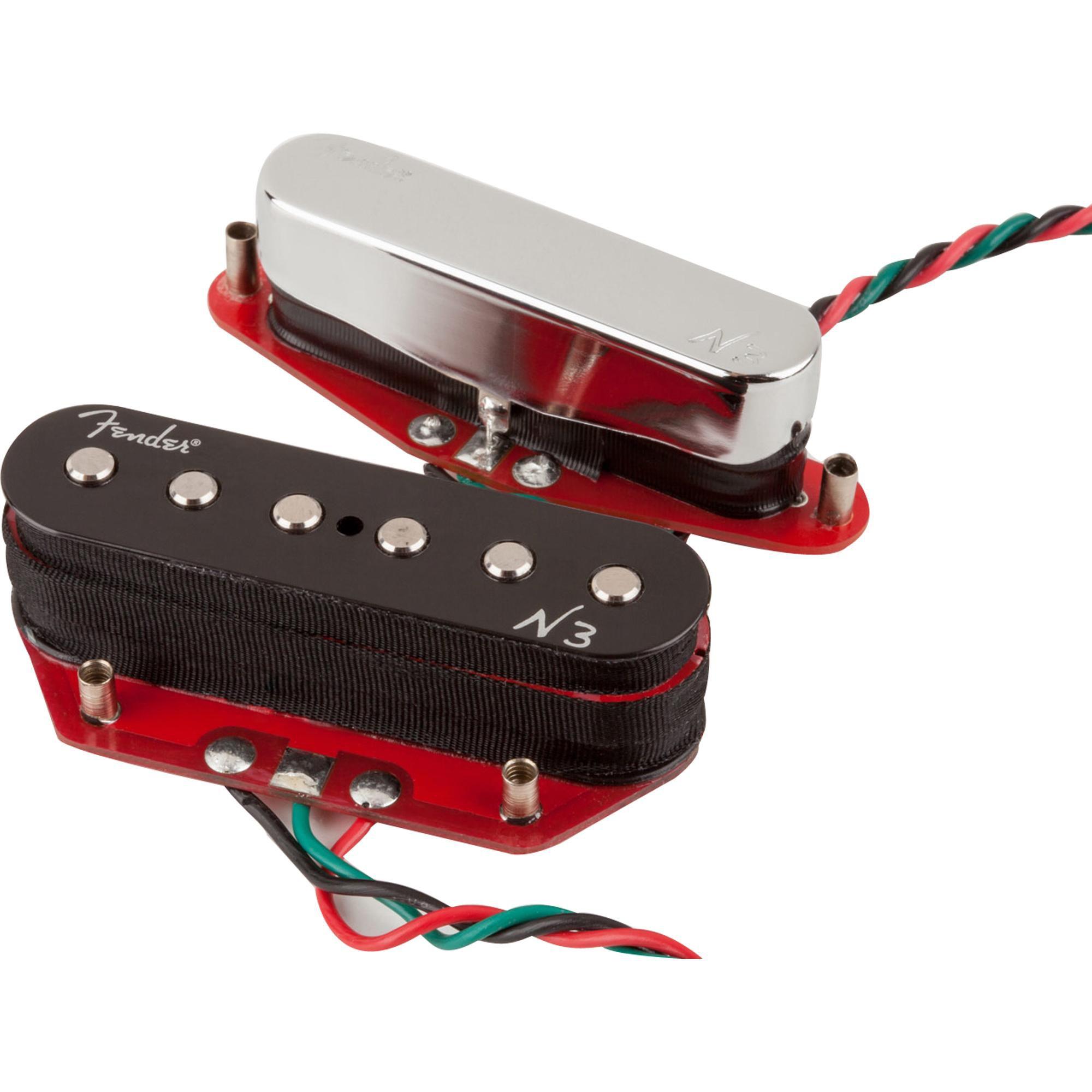Set de Captadores para Guitarra N3 NOISELESS TELE Preto FENDER