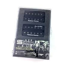 SET CAPTADORES HUMBUCKERS DAVE MUSTAINE TRASH FACTOR - SEYMOUR DUNCAN