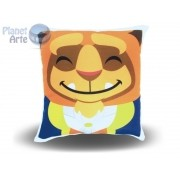 Kit com 10 Almofadas Cute Baby Personalizada Fera