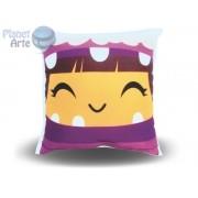Kit com 10 Almofadas Cute Baby Personalizada Monstros SA Boo