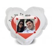 Almofada de Coração Personalizada com Foto e Mensagens - 004