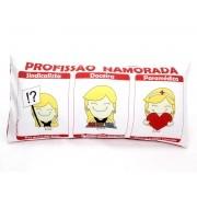 Almofada Palito Personalizada Amor Profissão Namorada