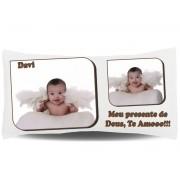 Almofada Palito Personalizada com Fotos e Mensagens - 001