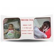 Almofada Palito Personalizada com Fotos e Mensagens - 002