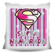 Almofada Quadrada Personalizada Amor Super Namorada