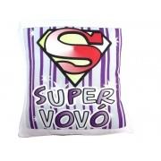 Almofada Quadrada Personalizada Super Vovó