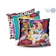 Kit de 10 Almofadas Coloridas Personalizadas  Alice no Pais das Maravilhas