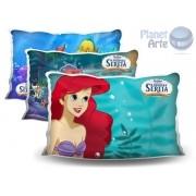 Kit de 10 Almofadas Coloridas Personalizadas  Ariel Pequena Sereia