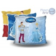 Kit de 10 Almofadas Coloridas Personalizadas Cinderela