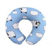 Almofadas de Pescoço Travesseiro para Viagem Baby Ovelhinhas