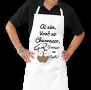 Avental de Cozinha Personalizado Vovô no Churrasco