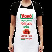 Avental de Cozinha Personalizado Vovó pura Doçura