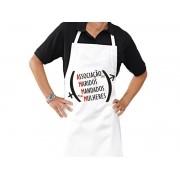 Avental Personalizado de Cozinha Churrasco A M M M
