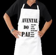 Avental Personalizado de Cozinha Churrasco do Papai