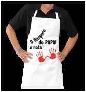Avental Personalizado de cozinha Tempero do Papai é 10