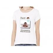 Camiseta Baby Look Personalizada com Fotos