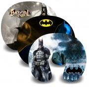 Kit com 10 Almofadas de Pescoço Lembrancinha Personalizada Batman