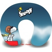 Kit com 10 Almofadas de Pescoço Lembrancinha Personalizada Snoopy