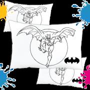 Kit com 10 Almofadas para Colorir e Pintar Personalizada Batman