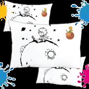 Kit com 10 Almofadas para Colorir e Pintar Personalizada Pequeno Príncipe