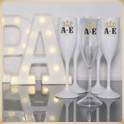 Kit com 30 Taças de Acrílico Personalizada para festa Casamento noivas e madrinhas
