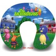 Kit com 10 almofadas de pescoço infantil Personalizadas Backyardigans