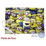 Kit de 10 Lousas Portáteis Personalizadas Lembrancinhas - Minions