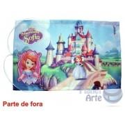 Kit de 10 Lousas Portáteis Personalizadas Lembrancinhas - Princesa Sofia