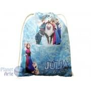 Kit de 10 Mochilinhas  Personalizadas para Lembrancinhas - Frozen