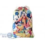 Kit de 10 Mochilinhas Personalizadas para Lembrancinhas - Mickey e sua Turma