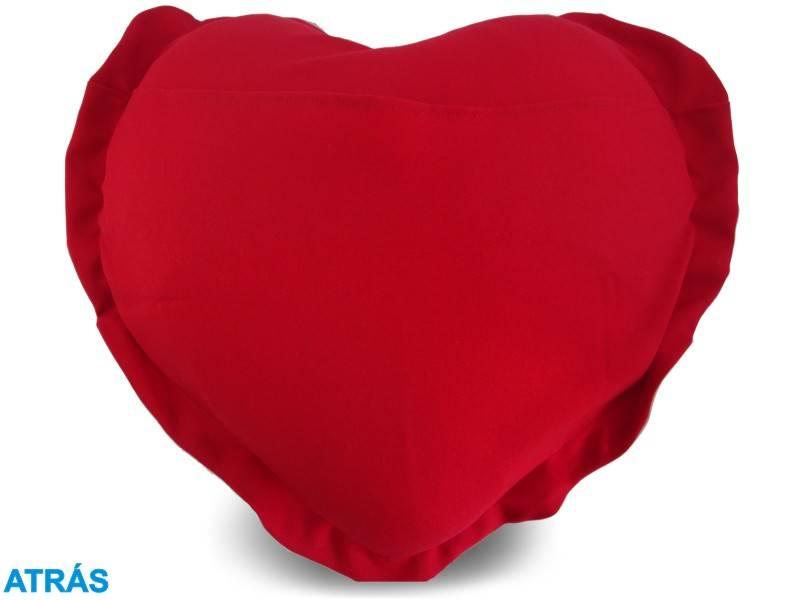 Almofada de Coração Personalizada Namorados Amor Infinito