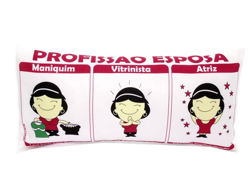 Almofada Palito Personalizada Amor Profissão Esposa