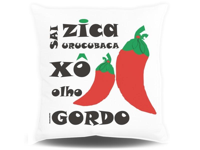 Almofada Quadrada Personalizada Criativa - Sai Zica