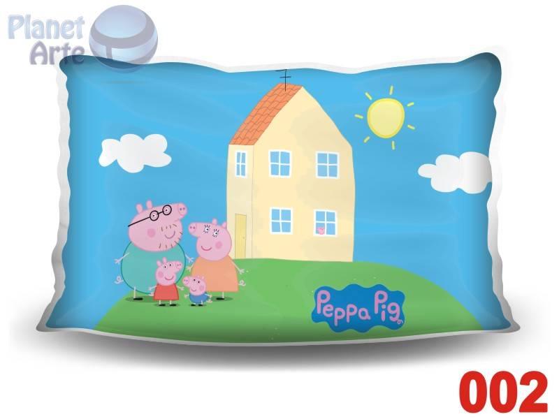Kit de 10 Almofadas Coloridas Personalizadas Peppa Pig