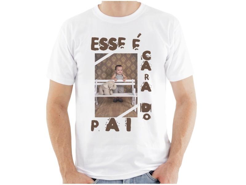 Camiseta Tradicional Personalizada com Fotos