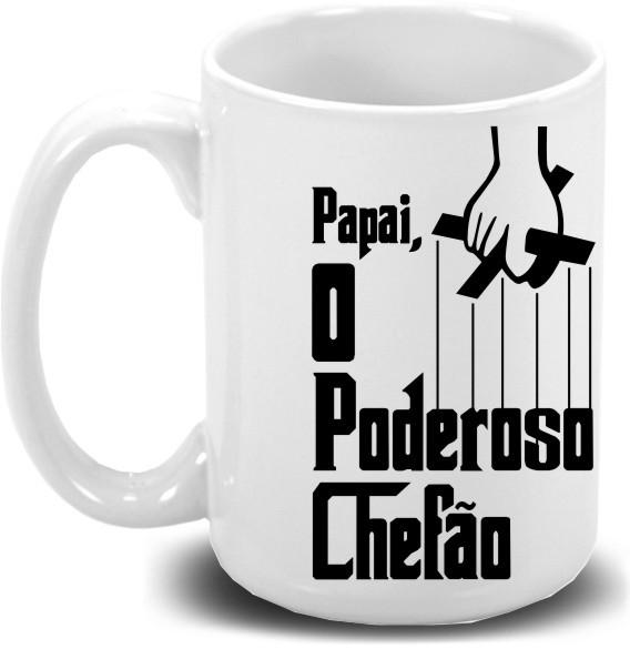 Caneca de Porcelana Personalizada Pai O poderoso Chefão