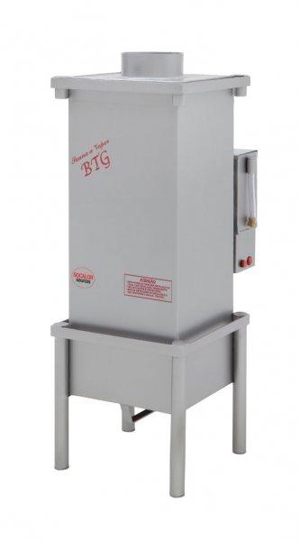Sauna a Vapor a Gás BTG30 para 30m³ GLP controle de temperatura analógico - Socalor