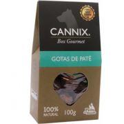 CANNIX GOURMET BOX GOTAS DE PATÊ 100g PETS DU MONDE