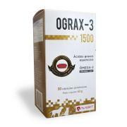 OGRAX - 3 COM 30 CAPSULAS 1500 mg