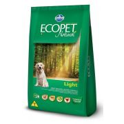 RAÇÃO FARMINA ECOPET NATURAL LIGHT 15 Kg