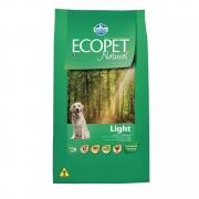 Ração Farmina Ecopet Natural Light para Cães Adultos de Raças Médias e Grandes 15 Kg
