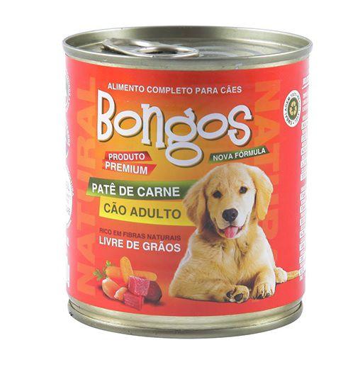 PATE BONGOS ADULTO CARNE 280 g