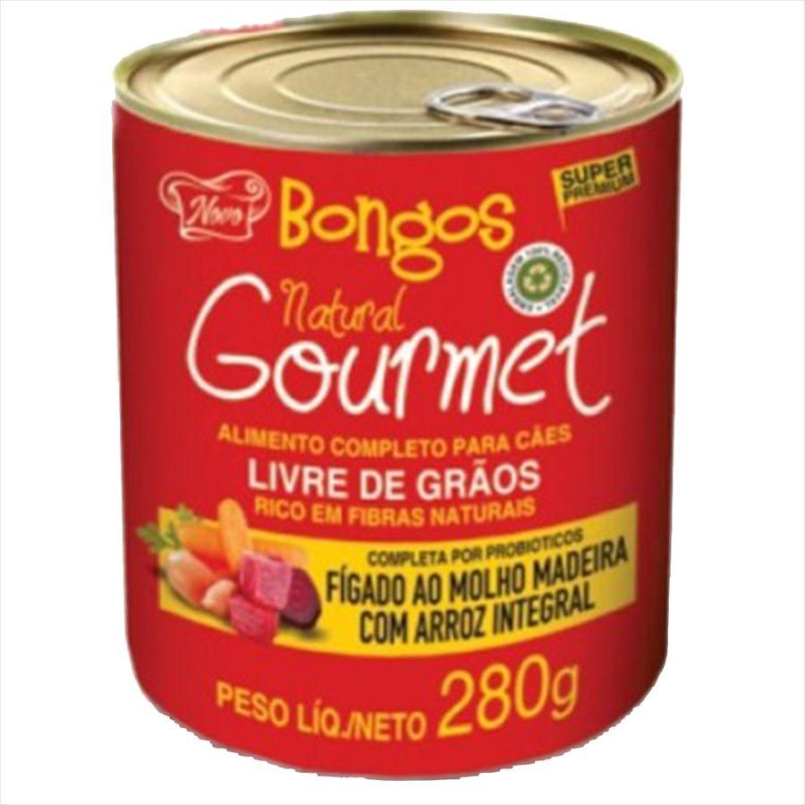 ALIMENTO ÚMIDO BONGOS FIGADO MOLHO MADEIRA 280 g