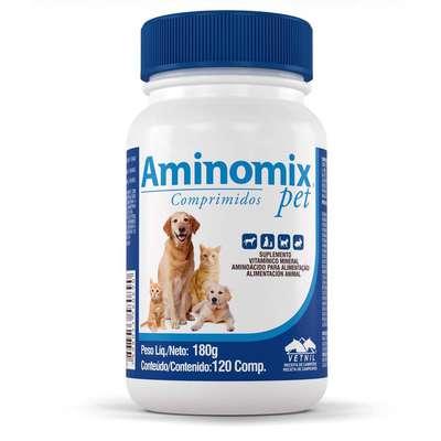 AMINOMIX PET COM 120 COMPRIMIDOS
