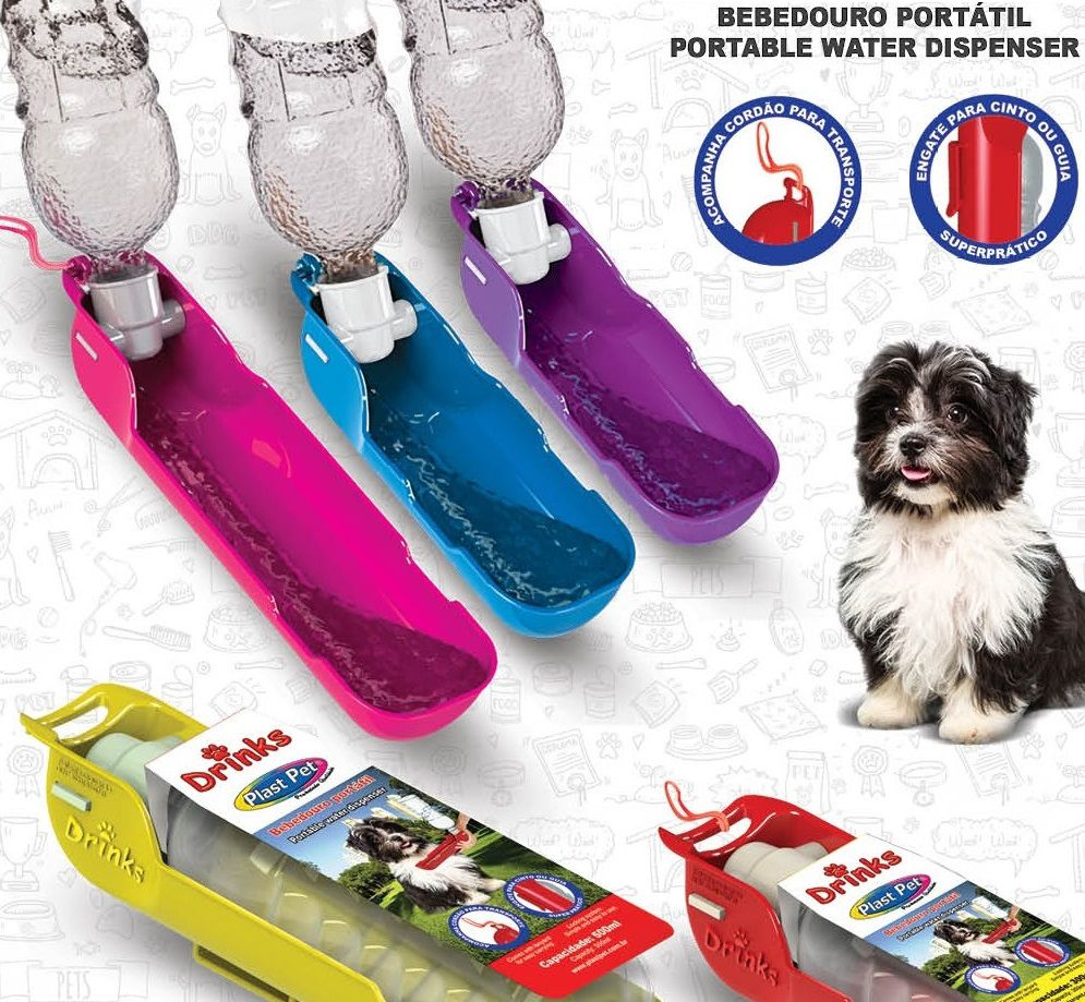 BEBEDOURO PORTATIL PET DRINK