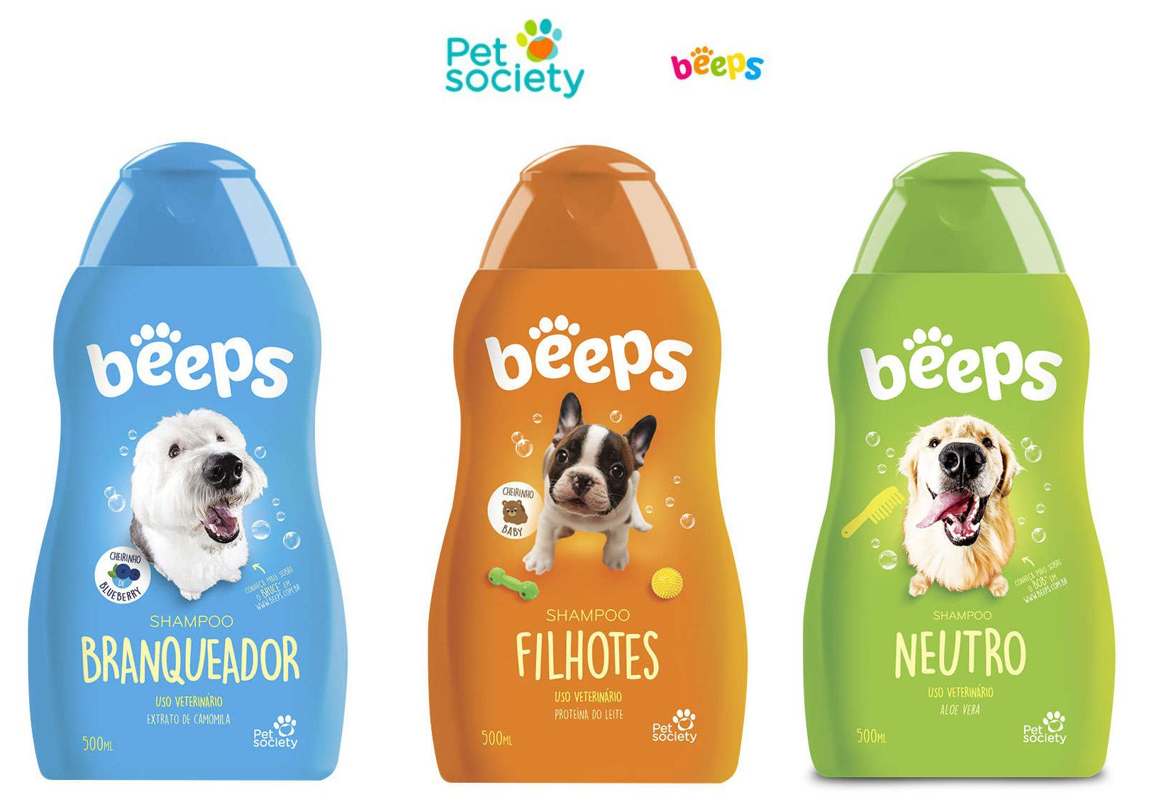 SHAMPOO BEEPS PET SOCIETY 500 mL
