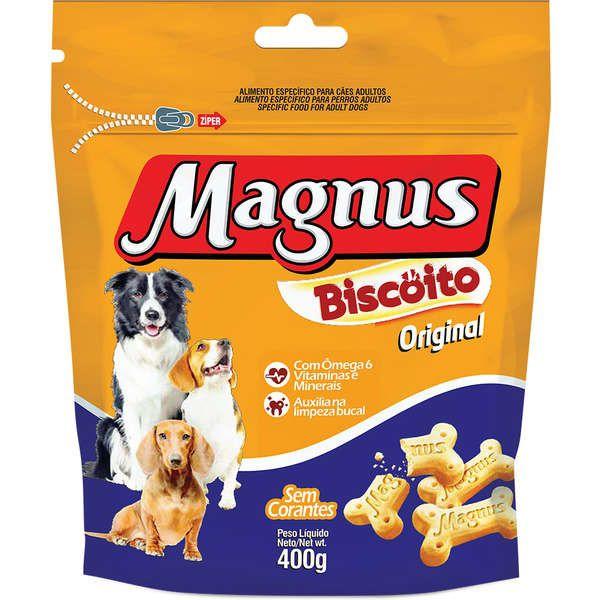 BISCOITO MAGNUS ORIGINAL 400g