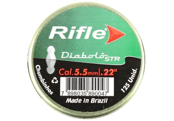 CHUMBINHO RIFLE DIABOLO CAL. 5.5MM COM 125 UN