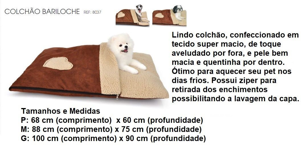 COLCHÃO BARILOCHE BICHINHO CHIC GRANDE