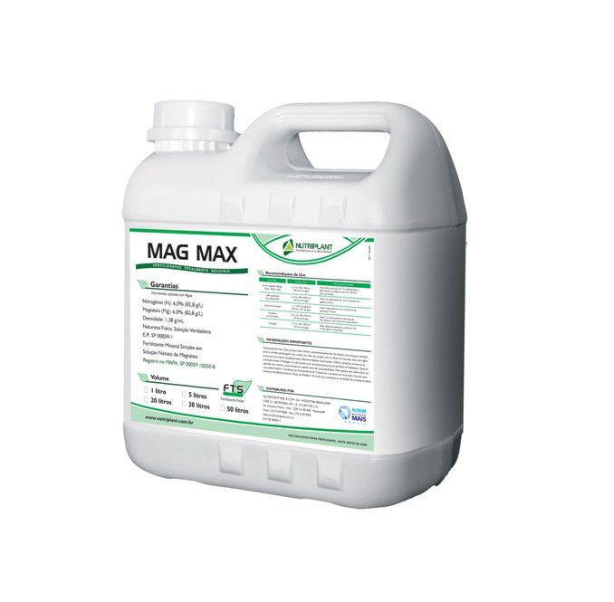 FERTILIZANTE GREEN TOP MAG MAX 5,0LT